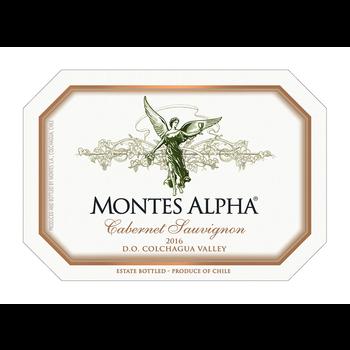 Montes Alpha Cabernet Sauvignon 2016<br /> Colchagua Valley, Chile