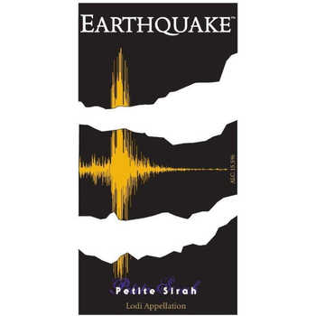 Earthquake Petite Sirah 2016<br /> Lodi, California