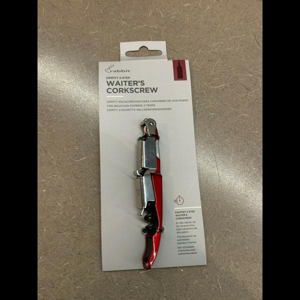 Rabbit Zippity 2-Step Waiter's Corkscrew