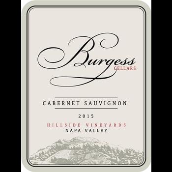 Burgess Burgess Cabernet Sauvignon 2015<br />Napa, California