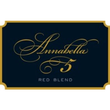 "Annabella Annabella ""5"" Red Blend 2017<br />