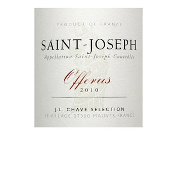 Chave Domaine Jean-Louis Chave St. Joseph Offerus 2016<br />Rhone, France