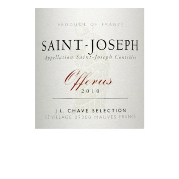 Chave Domaine Jean-Louis Chave St. Joseph Offerus 2015<br />Rhone, France