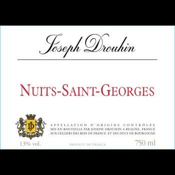 Drouhin Joseph Drouhin Nuits Saint-Georges 2016  <br /> Burgundy, France
