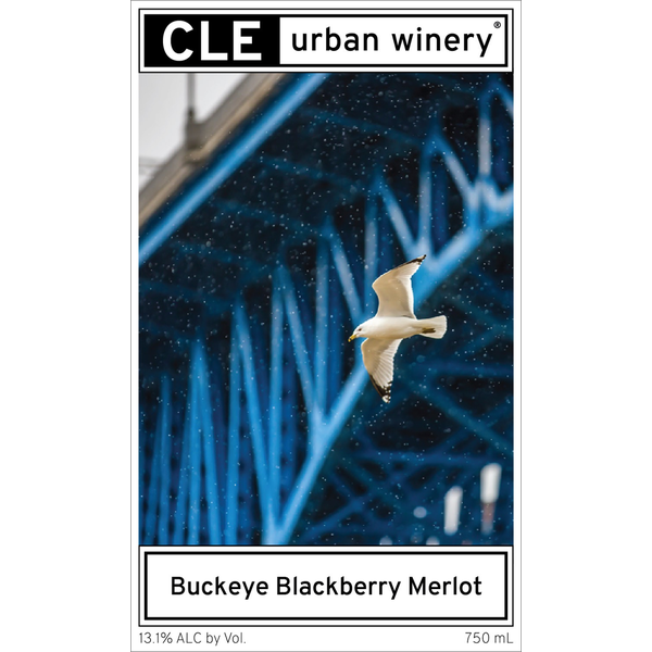 Cle Urban Winery Buckeye Blackberry Merlot<br /> Cleveland, Ohio