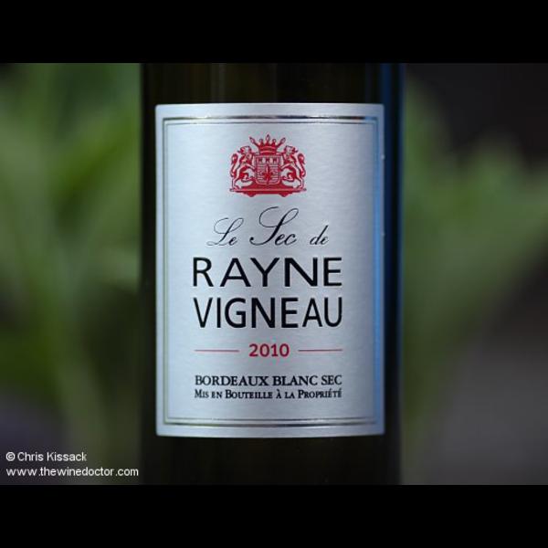 Vigneau Le Sec de Rayne Vigneau Bordeaux Blanc Sec 2016<br />Bordeaux, France