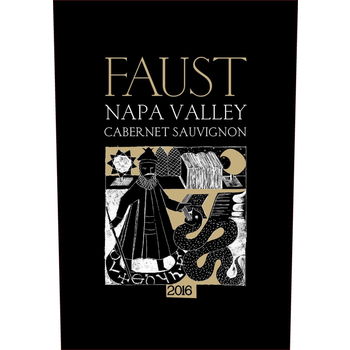 Faust Faust Cabernet Sauvignon Napa 2016  1.5Liter<br />Napa, California  <br /> 94pts-JS, 93pts-WS, 92pts-WA, 90pts-WE