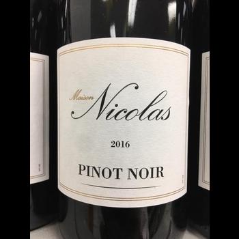 Maison Nicolas Maison Nicolas Pinot Noir 2018<br /> Languedoc, France