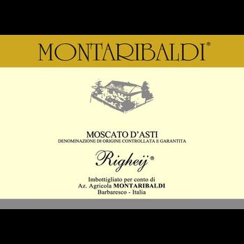 Montaribaldi Montaribaldi Righey Moscato D'Asti 2018<br />Italy