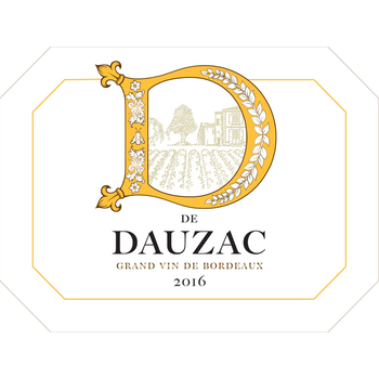 D De Dauzac Bordeaux Rouge 2016<br /> Bordeaux, France
