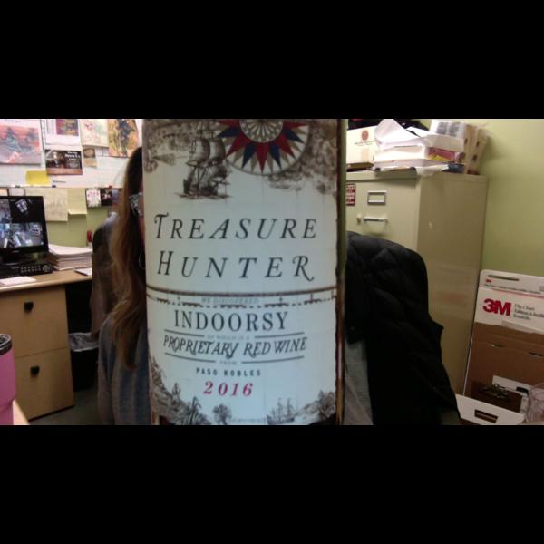 Treasure Hunter Treasure Hunter Indoorsy Proprietary Red 2016<br /> Paso Robles, California