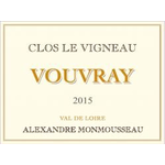 Alexandre Monmousseau Alexandre Monmousseau Clos Le Vigneau Vouvray 2017<br /> Loire, France