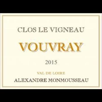 Alexandre Monmousseau Gaudrell Alexandre Monmousseau Clos Le Vigneau Vouvray 2017<br /> Loire, France