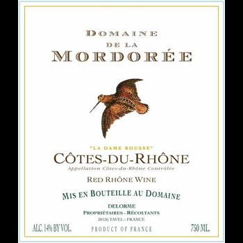 Dm Mordoree Domaine Mordoree Cotes-Du-Rhone Rouge Dame Rousse 2019 Rhone, France
