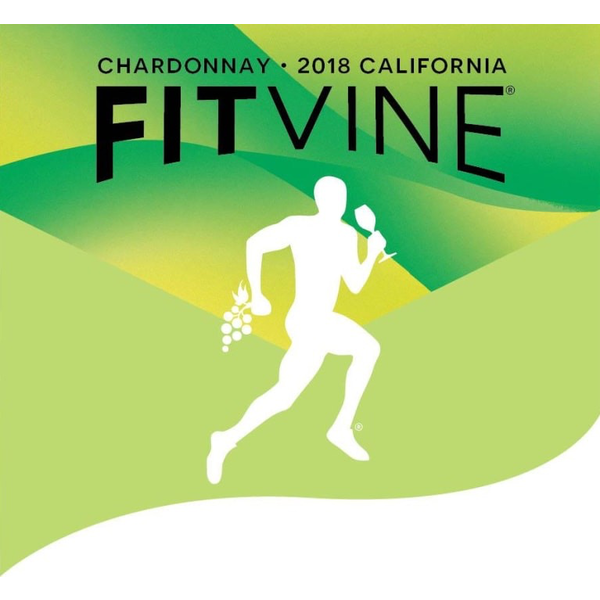 FitVine Wine Chardonnay 2018<br /> Califonria