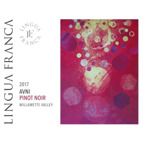 Lingua Franca AVNI Pinot Noir 2017<br /> Willamette Valley, Oregon<br /> 92pts-WE