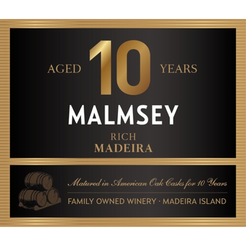 Blandys Blandys 10 Year Madiera Rich Malmsey  500ml<br /> Madeira, Portugal<br /> 91pts- WE, 90pts-WS
