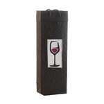 Red Wine Handmade Paper One Bottle Bags