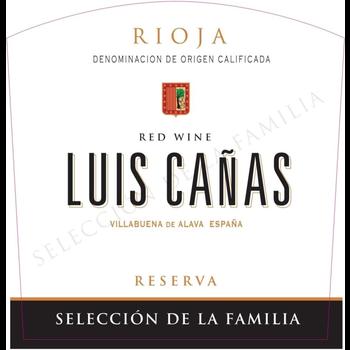 Luis Canas Reserva Seleccion de la Familia 2014<br /> Rioja, Spain<br /> 91pts-JS