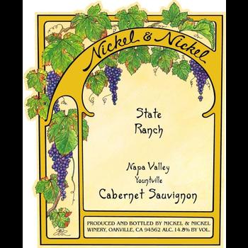 Nickel & Nickel Nickel & Nickel State Ranch Cabernet Sauvignon 2018<br />Napa, California<br /> 92pts-JS, 90pts-WE
