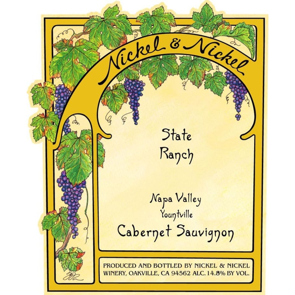 Nickel & Nickel Nickel & Nickel State Ranch Cabernet Sauvignon 2018<br />