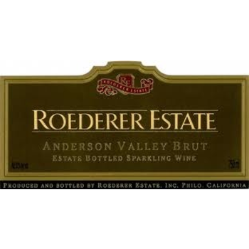 Roederer Roederer Estate Sparkling Brut Non-Vintage<br /> Anderson Valley, Mendocino, California<br /> 93pts-WA, 92pts-WS, 91pts-WE