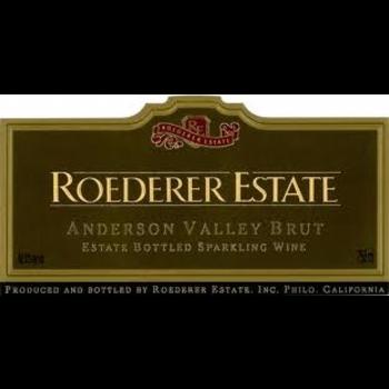 Roederer Roederer Estate Sparkling Brut Non-Vintage<br /> Anderson Valley, Mendocino, California<br /> 92pts-WS, 91pts-WE