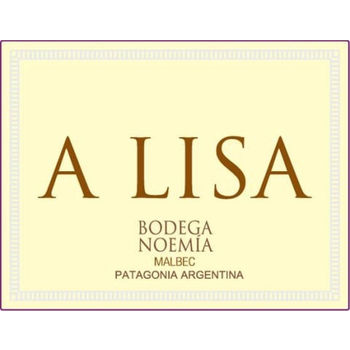 Bodega Noemia de Patagonia A Lisa Malbec 2019<br /> Patagonia, Argentina<br /> 93pts-JS