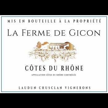 La Ferme De Gicon Cotes Du Rhone 2017<br /> Rhone, France