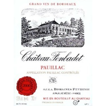 Ch Fonbadet Pauillac 2016<br /> Bordeaux, France<br />94pts-WE, 92pts-JS, 91pts-WA