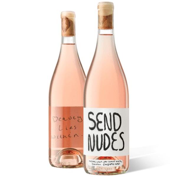 Slo Down Wines Send Nudes Rose 2019<br /> Sonoma, California