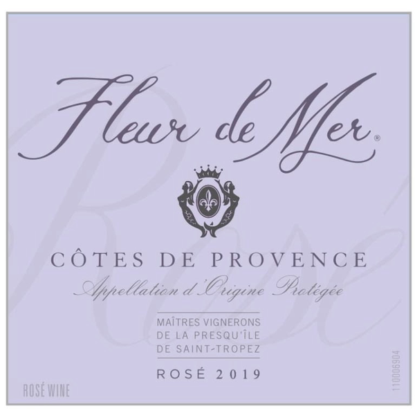 Fleur de Mer Rose 2019  375ml<br /> Provence, France