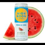 High Noon Sun Sips Vodka & Soda Watermelon   Priced Per Can