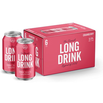 The Finnish Long Drink Cranberry<br /> Finland  Priced Per Can