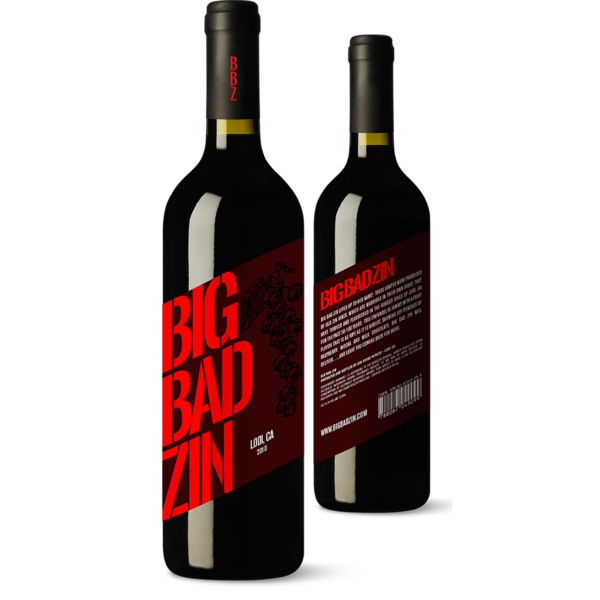 Big Bad Zin 2015<br /> Lodi, California