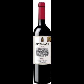 Rivallana Crianza Rioja 2015  <br /> Spain <br /> 95pts-Decanter