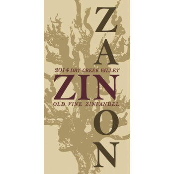 Zanon Old Vine Zinfandel 2017<br /> Dry Creek Valley, California