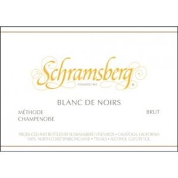 Schramsberg Schramsberg Sparkling Blanc de Noirs 2015<br />Califronia