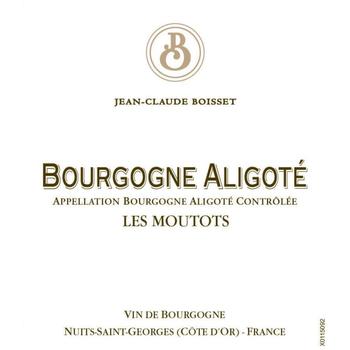 Jean-Claude Boisset Bourgogne Aligote Les Moutots 2015<br /> Burgundy, France