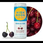 High Noon Sun Sips Vodka & Soda Black Cherry   Priced Per Can