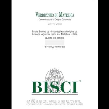 Bisci Verdicchio di Matelica 2018<br /> Marche, Italy