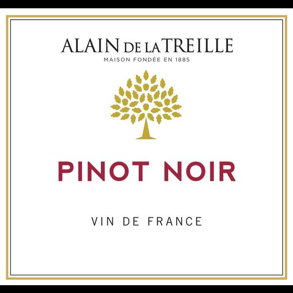 Alain De La Treille Pinot Noir 2018 Vine de France