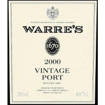 Warres Warres Vintage Porto 2000  91pts-WS & RP