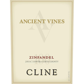 Cline Cline Ancient Vines Zinfandel 2016<br /> Contra Costa County, California<br /> 3 Liter