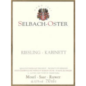 Selbach-Oster Selbach-Oster Riesling Kabinett 2017  <br /> Mosel, Germany