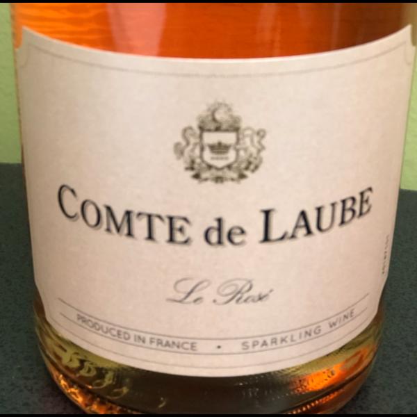 Comte de Laube Cuvée Selection Brut Rose<br /> Bordeaux, France