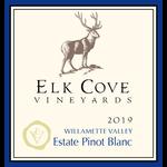 Elk Cove Elk Cove Vineyards Pinot Blanc 2019  <br /> Willamette Valley, Oregon