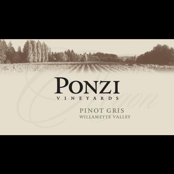 Ponzi Vineyards Pinot Gris 2018<br /> Willamette Valley, Oregon