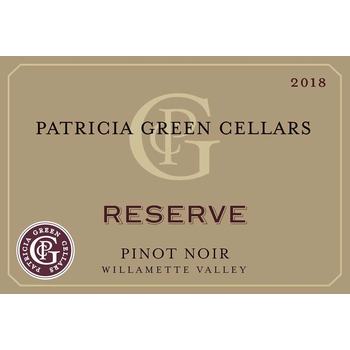 Patricia Green Patricia Green Cellars Reserve Pinot Noir 2019<br />Willamette Valley, Oregon<br /> 92pts-WS