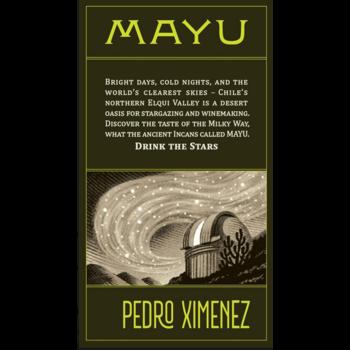 Vina Mayu Vina Mayu Pedro Ximenez 2019<br />Elqui Valley, Chile<br /> 90pts-WA